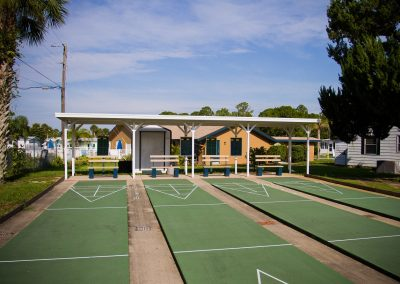 Mobile Home Shuffleboard